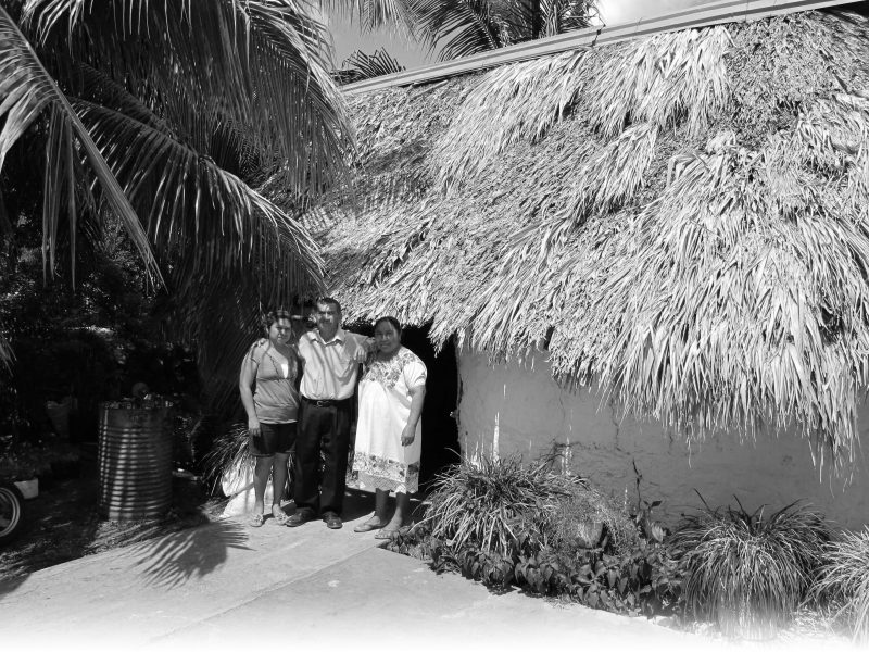 Mariano and His Family, Mexico. Photo: Paul Worley, 2007.