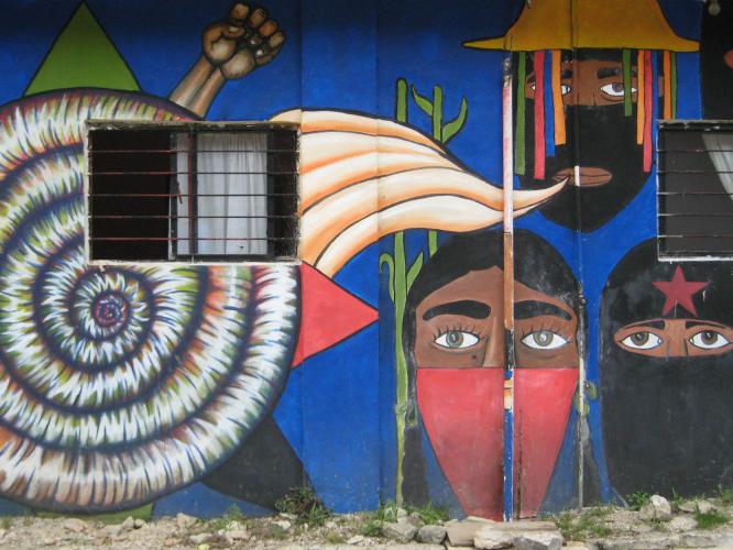 Oventic, Chiapas, Mexico. Photo: Lorie Novak, 2013.