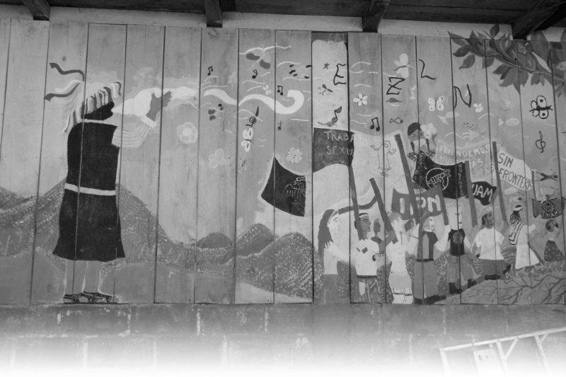 Murals at Oventik Photo: Lorie Novak